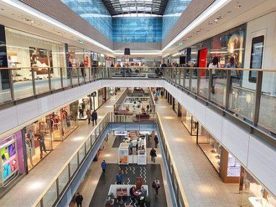 ショッピングセンターをイメージした写真