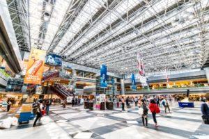 北海道札幌の空の玄関である新千歳空港の写真