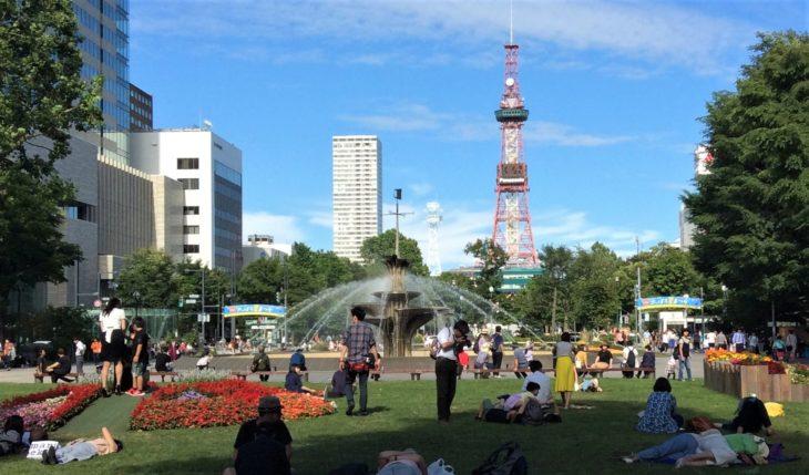 THE札幌・夏の魅力=大通公園の夏!寝そべるか?飲んで食べるか?