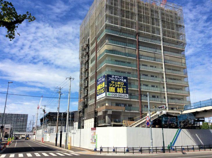 大通駅~サッポロファクトリー~ザ・タワーズフロンティア札幌への道のり(工事中)