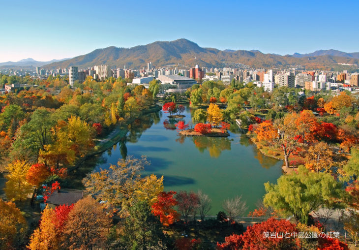 『札幌の紅葉・市街地5選』札幌に移住したら毎日楽しめる!