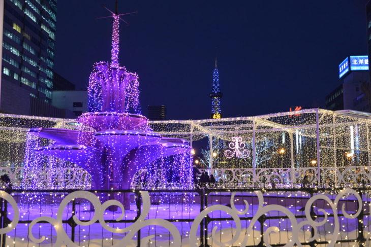 さっぽろホワイトイルミネーションが札幌《冬》の象徴!